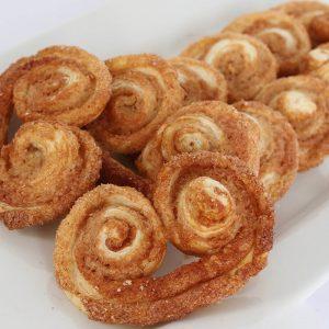 Cinnamon Palmiers (Orejitas)