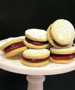 Guava Alfajor Cookies