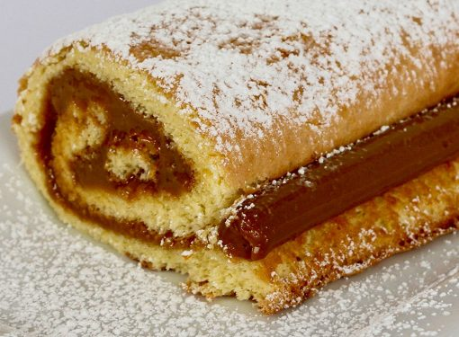 Whole Dulce de Leche Roll (Pionono)