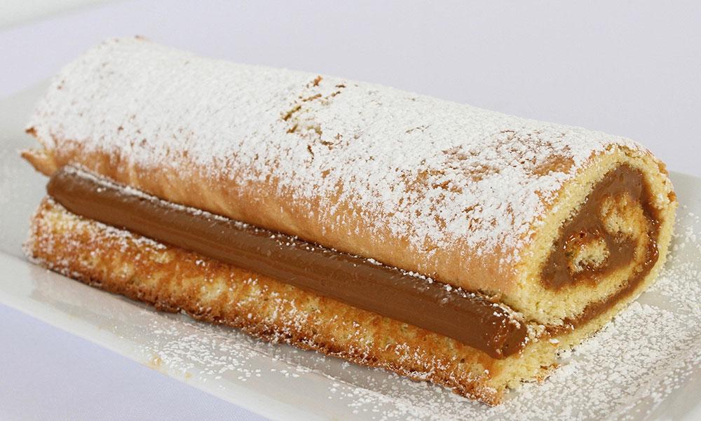 Whole Dulce de Leche Roll (Pionono)