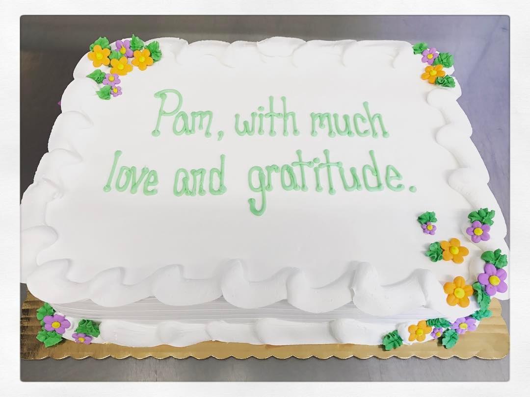Home Sheet Cakes Full Cake Serves 100