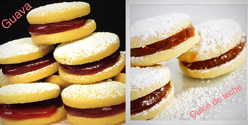 Assorted Alfajor Cookie Tray