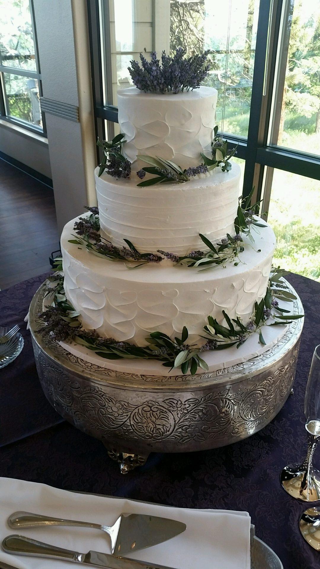 Buttercream Wedding Cakes Azucar Bakery